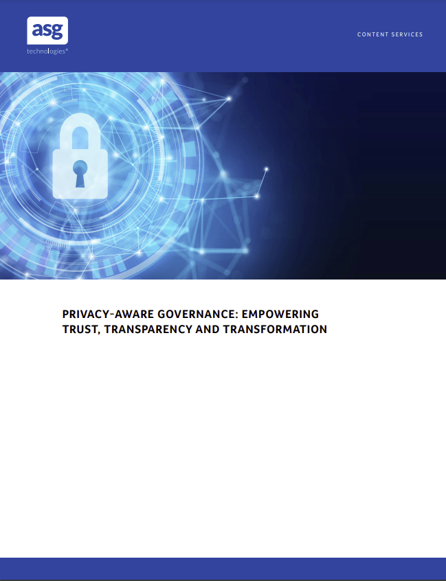 ASG Privacy Aware Governance Whitepaper